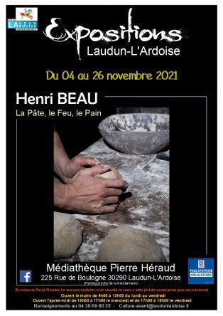Vernissage Expositon Henri BEAU