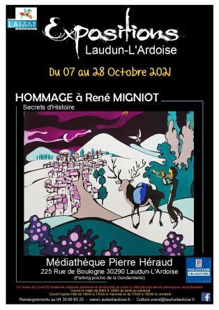 Exposition Hommage à René MIGNIOT