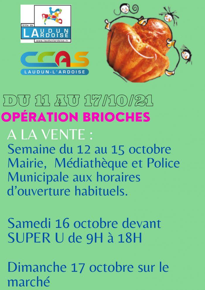 Opération Brioches 2021